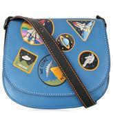 Coach Cross Body Patch Saddle Bag