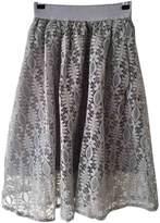 Christopher Kane Grey Cotton Skirt for Women