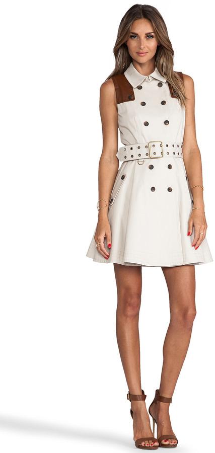 Rachel Zoe Gable Sleeveless Trench Dress