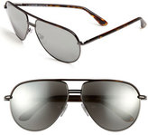 Tom Ford Women's 'Cole' 61Mm Sunglasses - Gun/ Grey
