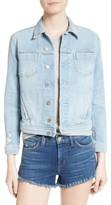L'Agence Women's Slim Fit Denim Jacket