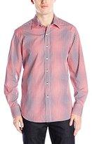 Robert Graham Men's Wick Long Sleeve Woven Shirt
