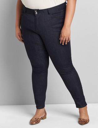 Lane Bryant Lane Essentials Venezia High-Rise T3 Skinny Jean - Dark Wash