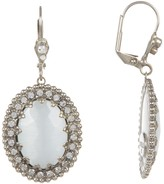 Sorrelli Cabochon Crown Drop Earrings