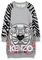 Kenzo Big Tiger Sweater Dress, Size 14-16