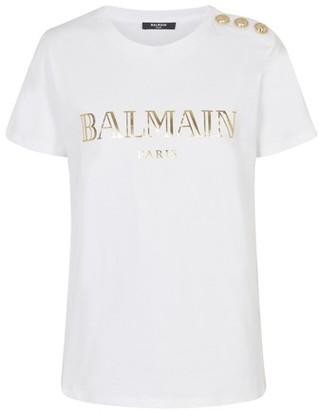 Balmain Vintage logo t-shirt