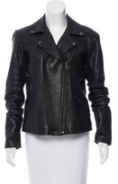 Veda Leather Moto Jacket
