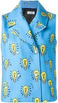Au Jour Le Jour light bulb motif vest
