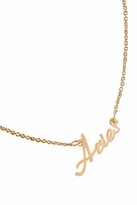 Rebecca Minkoff Aries Zodiac Necklace in Gold