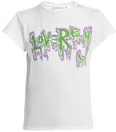 Charles Jeffrey Loverboy Loverboy Satin T-shirt - Womens - White