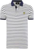 Lyle & Scott Men's Breton Stripe Short-Sleeve Polo Shirt