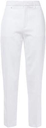 Joseph Coman Cropped Crepe Straight-leg Pants