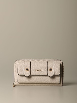 Liu Jo Wallet In Synthetic Leather With Front Pocket