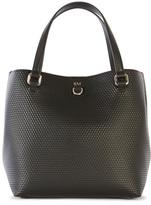 Karen Millen Embossed Mini Bucket Bag