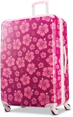 """American Tourister Life is Good Hibiscus 28"""" Spinner Luggage"""