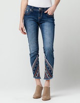 Miss Me Gypsy Tales Womens Skinny Ankle Jeans
