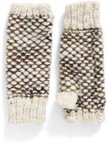 Steve Madden Nubby Knit Fingerless Gloves