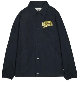 Billionaire Boys Club Heart And Mind Navy Cotton-blend Jacket
