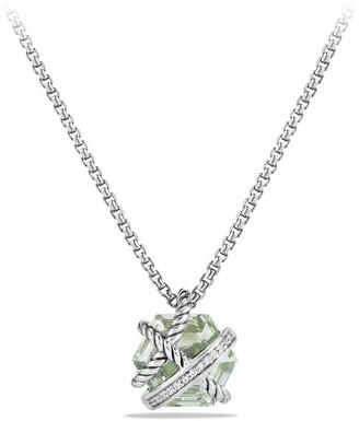 David Yurman Cable Wrap Pendant Necklace with Diamonds