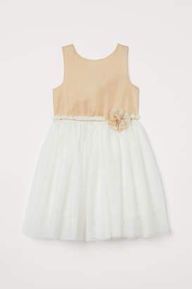 H&M Glittery tulle dress