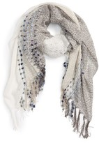 Sole Society Women's Knit Dot Scarf