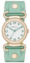 Marc by Marc Jacobs MBM1306 White Green Molly Womens Watch