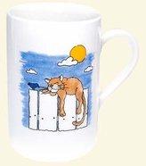 Konitz Caunitz Cat by day mug 111 003 0019 (japan import)