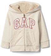 Gap Cozy logo zip hoodie
