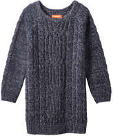Joe Fresh Toddler Girls' Cable Knit Sweater Dress, Navy (Size 3)