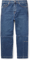 Mcq Alexander Mcqueen - Cropped Recycled Denim Jeans