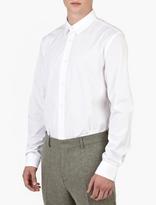Acne Studios White Jeffrey Pop Shirt