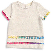 Soprano Girls 7-16 Girls Speckled Knit Top