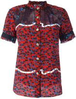 Coach floral print shortsleeved shirt - women - Silk - 4