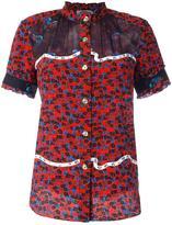 Coach floral print shortsleeved shirt