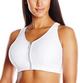 Glamorise Women's Plus-Size High Impact Magiclift Zippered Sports Bra