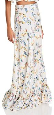 All Things Mochi Nadia Floral Print Maxi Skirt