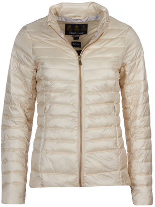 Barbour Womens Baird Quilted Jacket in Cream LQU1168CR11 - 8 | polyester | cream - Cream