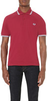 Fred Perry M12 twin tipped cotton-piqué polo shirt