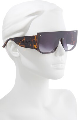 Quay Fully Booked 150mm Gradient Shield Sunglasses