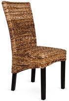 Classic Concepts Etta Side Chair, Woven Rattan