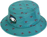 Kenzo eye print bucket hat - men - Cotton/Polyester - One Size