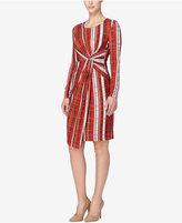 Catherine Malandrino Catherine Printed Faux-Wrap Dress