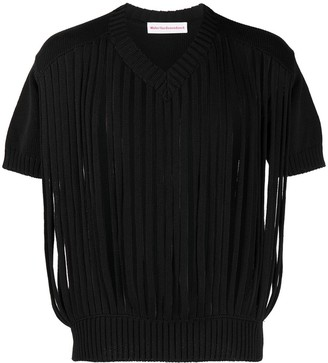 Walter Van Beirendonck Pre-Owned Tube knitted top