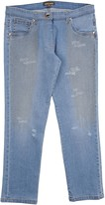 Roberto Cavalli Denim pants - Item 42585447