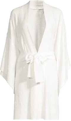 Norma Kamali Sequin Robe Coverup