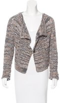 Missoni Cashmere Open Knit Cardigan