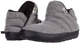 The North Face ThermoBall Traction Bootie (TNF Medium Grey Heather/TNF Black (Wool)) Men's Shoes