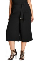 City Chic Plus Size Women's Walk On By Culottes