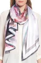 Ted Baker Women's Painted Posie Long Silk Scarf