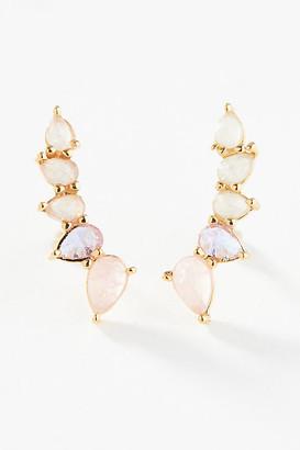 Anthropologie Dylan Crawler Earrings By in Pink